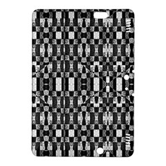 Black And White Geometric Tribal Pattern Kindle Fire Hdx 8 9  Hardshell Case by dflcprints