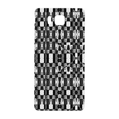 Black And White Geometric Tribal Pattern Samsung Galaxy Alpha Hardshell Back Case by dflcprints
