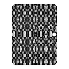 Black And White Geometric Tribal Pattern Samsung Galaxy Tab 4 (10 1 ) Hardshell Case  by dflcprints