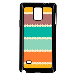 Rhombus And Retro Colors Stripes Pattern by LalyLauraFLM