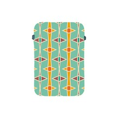 Rhombus Pattern In Retro Colors apple Ipad Mini Protective Soft Case by LalyLauraFLM
