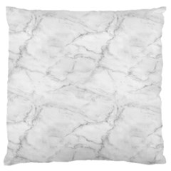 White Marble 2 Standard Flano Cushion Cases (one Side)