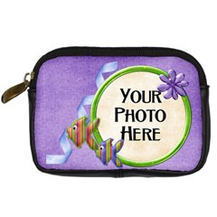 Lil  Froggie Camera Bag By Lisa Minor   Digital Camera Leather Case   G16fmytldoe8   Www Artscow Com Front