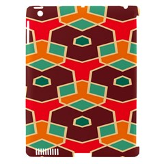 Distorted Shapes In Retro Colors			apple Ipad 3/4 Hardshell Case (compatible With Smart Cover) by LalyLauraFLM