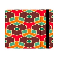 Distorted Shapes In Retro Colors			samsung Galaxy Tab Pro 8 4  Flip Case by LalyLauraFLM