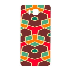 Distorted Shapes In Retro Colors			samsung Galaxy Alpha Hardshell Back Case by LalyLauraFLM