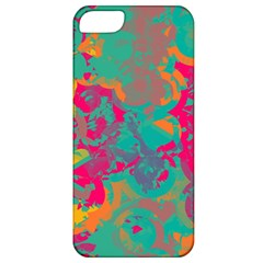 Fading Circles			apple Iphone 5 Classic Hardshell Case by LalyLauraFLM