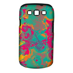 Fading Circles			samsung Galaxy S Iii Classic Hardshell Case (pc+silicone) by LalyLauraFLM
