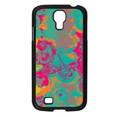 Fading Circlessamsung Galaxy S4 I9500/ I9505 Case (black) by LalyLauraFLM