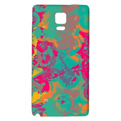 Fading Circlessamsung Note 4 Hardshell Back Case by LalyLauraFLM