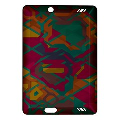 Geometric Shapes In Retro Colorskindle Fire Hd (2013) Hardshell Case by LalyLauraFLM