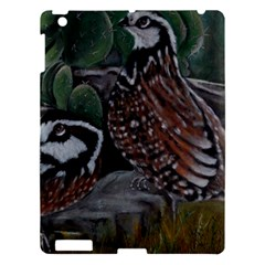 Bobwhite Quails Apple Ipad 3/4 Hardshell Case by timelessartoncanvas