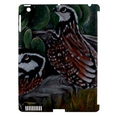 Bobwhite Quails Apple Ipad 3/4 Hardshell Case (compatible With Smart Cover) by timelessartoncanvas