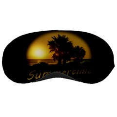 Sunset Scene At The Coast Of Montevideo Uruguay Sleeping Masks by dflcprints