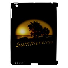 Sunset Scene At The Coast Of Montevideo Uruguay Apple Ipad 3/4 Hardshell Case (compatible With Smart Cover) by dflcprints