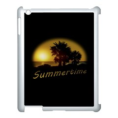 Sunset Scene At The Coast Of Montevideo Uruguay Apple Ipad 3/4 Case (white) by dflcprints