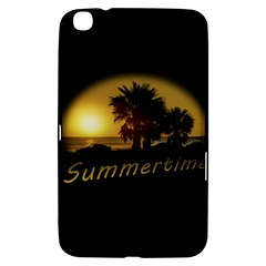 Sunset Scene At The Coast Of Montevideo Uruguay Samsung Galaxy Tab 3 (8 ) T3100 Hardshell Case  by dflcprints