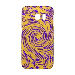 Purple And Orange Swirling Design Galaxy S6 Edge by JDDesigns