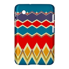 Chevrons And Rhombus			samsung Galaxy Tab 2 (7 ) P3100 Hardshell Case by LalyLauraFLM