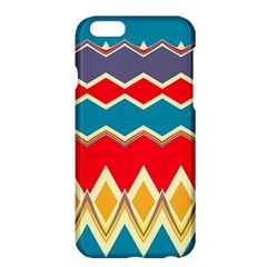 Chevrons and rhombus			Apple iPhone 6 Plus/6S Plus Hardshell Case by LalyLauraFLM
