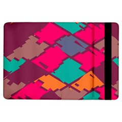 Pieces in retro colors			Apple iPad Air Flip Case by LalyLauraFLM