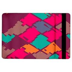 Pieces In Retro Colorsapple Ipad Air 2 Flip Case by LalyLauraFLM