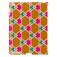 Connected Shapes Pattern			apple Ipad 3/4 Hardshell Case (compatible With Smart Cover) by LalyLauraFLM