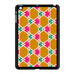 Connected Shapes Pattern			apple Ipad Mini Case (black) by LalyLauraFLM