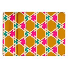 Connected Shapes Pattern			samsung Galaxy Tab 10 1  P7500 Flip Case by LalyLauraFLM