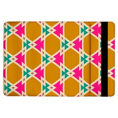 Connected Shapes Pattern			apple Ipad Air Flip Case by LalyLauraFLM