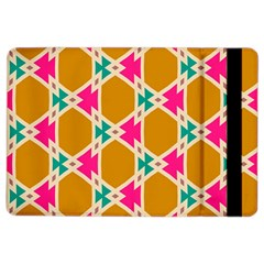 Connected Shapes Pattern			apple Ipad Air 2 Flip Case by LalyLauraFLM