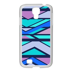 Angles And Stripes			samsung Galaxy S4 I9500/ I9505 Case (white) by LalyLauraFLM