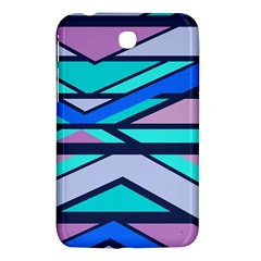Angles And Stripes			samsung Galaxy Tab 3 (7 ) P3200 Hardshell Case by LalyLauraFLM