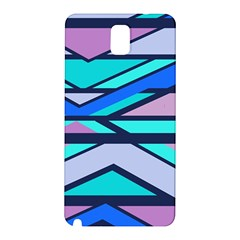 Angles And Stripes			samsung Galaxy Note 3 N9005 Hardshell Back Case by LalyLauraFLM