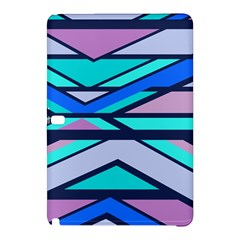Angles And Stripessamsung Galaxy Tab Pro 12 2 Hardshell Case by LalyLauraFLM