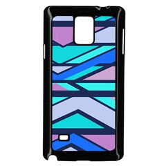 Angles and stripes			Samsung Galaxy Note 4 Case (Black) by LalyLauraFLM