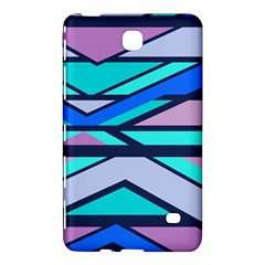 Angles And Stripes			samsung Galaxy Tab 4 (7 ) Hardshell Case by LalyLauraFLM