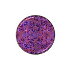 Intricate Patterned Textured  Hat Clip Ball Marker by dflcprints