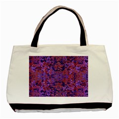 Intricate Patterned Textured  Basic Tote Bag (two Sides)  by dflcprints