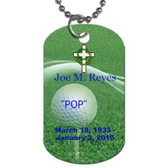 By Maryalice   Dog Tag (two Sides)   7yz2flz55p0y   Www Artscow Com Back