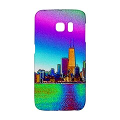 Chicago Colored Foil Effects Galaxy S6 Edge