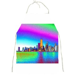 Chicago Colored Foil Effects Full Print Aprons