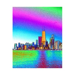 Chicago Colored Foil Effects 5 5  X 8 5  Notebooks by canvasngiftshop