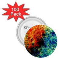 Orange Blue Background 1 75  Buttons (100 Pack)  by Costasonlineshop