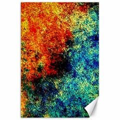 Orange Blue Background Canvas 20  X 30