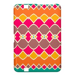 Symmetric Shapes In Retro Colorskindle Fire Hd 8 9  Hardshell Case by LalyLauraFLM