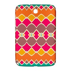 Symmetric Shapes In Retro Colorssamsung Galaxy Note 8 0 N5100 Hardshell Case by LalyLauraFLM