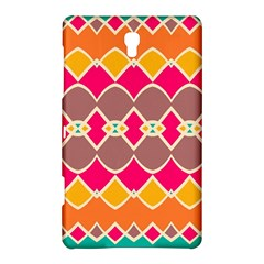 Symmetric Shapes In Retro Colorssamsung Galaxy Tab S (8 4 ) Hardshell Case by LalyLauraFLM