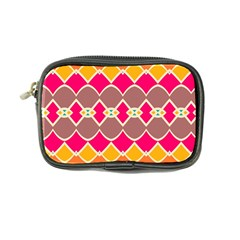 Symmetric Shapes In Retro Colors 	coin Purse by LalyLauraFLM