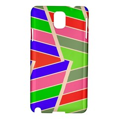 Symmetric Distorted Rectangles			samsung Galaxy Note 3 N9005 Hardshell Case by LalyLauraFLM